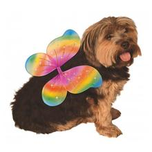 Fairy Wings Dog Costume - Rainbow