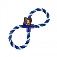 Figure 8 Dog Rope Toy - Blue
