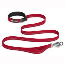 Flat Out Multi-Purpose Dog Leash by RuffWear - Red Currant