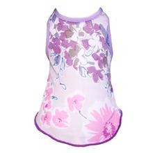 Floral Spring Dog Dress by Gooby - Purple