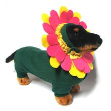 Flower Dog Costume with Separate Flower Headpiece by Doggie Design