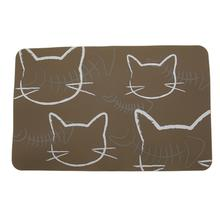 FouFou Silicone Cat Placemat - Taupe