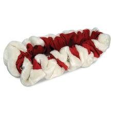Fox and Hound Red Santa Dog Scrunchie