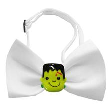 Frankenstein Halloween Chipper Dog Bow Tie