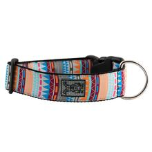 Fringe Wide Clip Adjustable Dog Collar