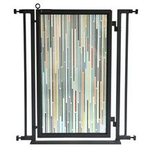 Fusion Gate - Pet Gate - Modern Lines - Black Finish
