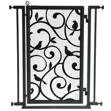Fusion Gate - Pet Gate - Songbirds - Black Finish