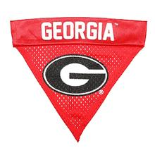 Georgia Bulldogs Dog Bandana Collar Slider