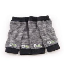 Go Fresh Pet Dog Leg Warmers - Charcoal Grey