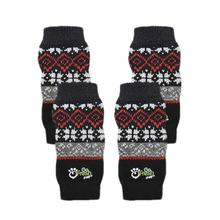 Go Fresh Pet Dog Leg Warmers - Red Nordic