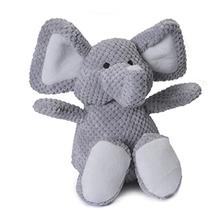 GoDog Checkers Elephant Dog Toy