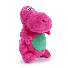 GoDog Dino T-Rex Dog Toy - Pink