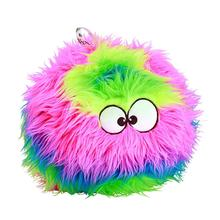 GoDog FurBallz Dog Toy - Rainbow