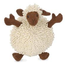 GoDog Fuzzy Wuzzy Sheep Dog Toy - Brown