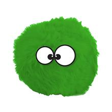 GoDog Holiday Furballz Dog Toy - Green