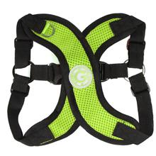 Gooby Comfort X Step-In Dog Harness - Lime Green