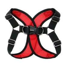 Gooby Comfort X Step-In Dog Harness - Red