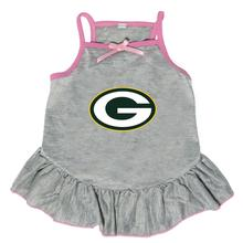 Green Bay Packers Dog Dress - Gray