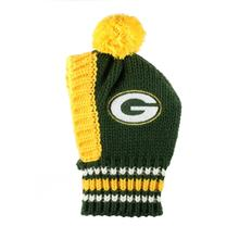 Green Bay Packers Knit Dog Hat