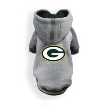 Greenbay Packers NFL Dog Hoodie - Gray