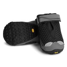 Grip Trex Dog Boots by RuffWear - Obsidian Black with Gray Trim