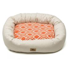 Groove Bumper Dog Bed - Linen Sunset