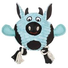 Grriggles Free-Range Friend Dog Toy - Cow