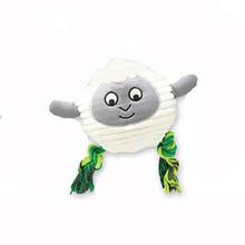 Grriggles Free-Range Friends Dog Toy - Sheep