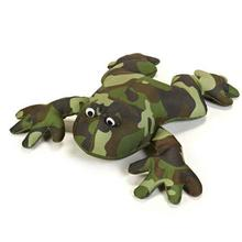 Grriggles Giant Camo Dog Toy - Frog