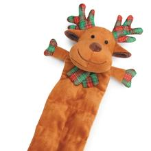 Grriggles Holiday Squeaktacular Dog Toy - Reindeer