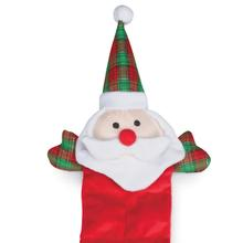 Grriggles Holiday Squeaktacular Dog Toy - Santa