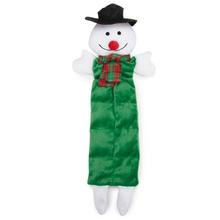 Grriggles Holiday Squeaktacular Dog Toy - Snowman