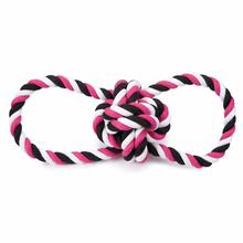 Grriggles Knot Tugs Dog Toy - Pink