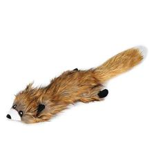 Grriggles Northwoods Unstuffies Dog Toy - Red Fox