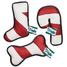 Grriggles Peppermint Stripe Dog Toys