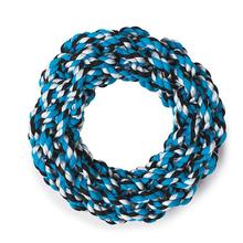 Grriggles Rope Ring Dog Toy - Blue