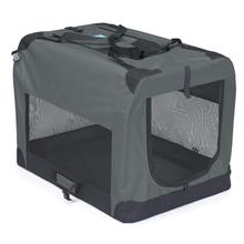 Guardian Gear Collapsible Soft Pet Crate - Gray