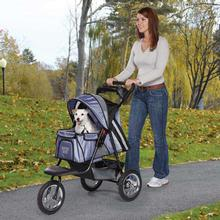 Guardian Gear Sprinter EXT II Dog Stroller - Steel Blue