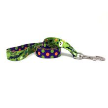 Halloween Mix Polka Dot Dog Leash by Yellow Dog