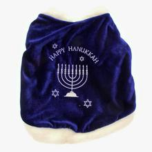 Hanukkah Dog Cape