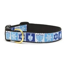 Hanukkah Dog Collar by Up Country