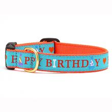 Happy Birthday Dog Collar by Up Country