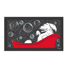 Happy Dog Bathing Mat by Dog Fashion Spa