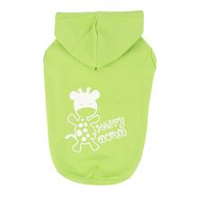 Happy World Hooded Dog Shirt by Puppia - Lime