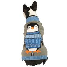 Happy's Penguin Dog Sweater - Blue Multi