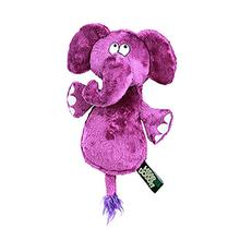 Hear Doggy Flattie Dog Toy - Elephant