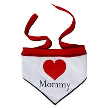 Heart Mommy Dog Bandana Scarf
