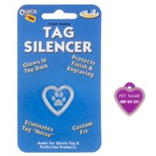 Heart Pet Tag Silencer