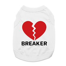 Heartbreaker Dog Shirt - White