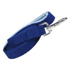 Hemp Dog Leash w/ Fleece Handle by Planet Dog - Blue